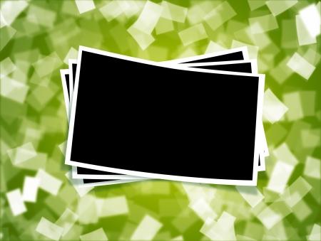 Blended blank image frame for multiple use Stock Photo - 14155404