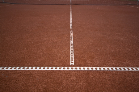 metaphorical: Tennis lines meant to explain how narrow is the road to success  Also metaphor for successful teamwork connection