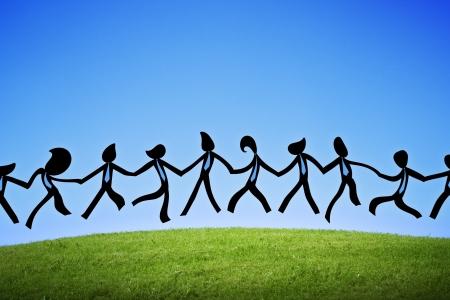 zweisamkeit: Business-Arbeit gut Tanzen Tiemen Spa� Lizenzfreie Bilder