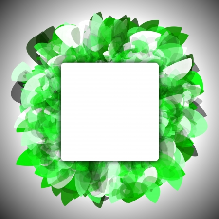 Abstract green background with empty space for text Stock Photo - 14363759