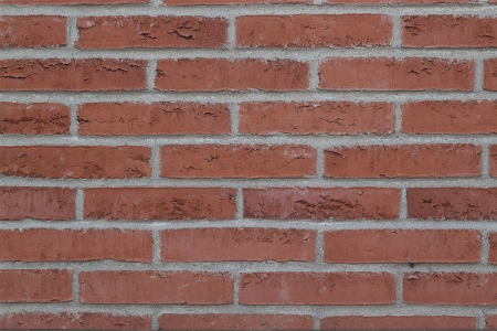 Red brick wall pattern closeup for multiple use Stock Photo - 14371543