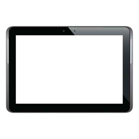 Modern and realistic tablet