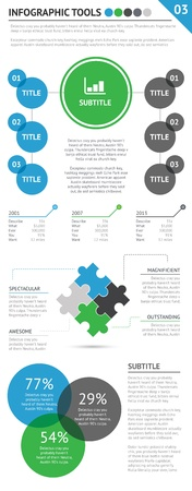 versions: Awesome infographic tools set 3 of 4