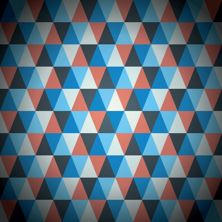 Modern triangle pattern vector background Stock Vector - 21019799