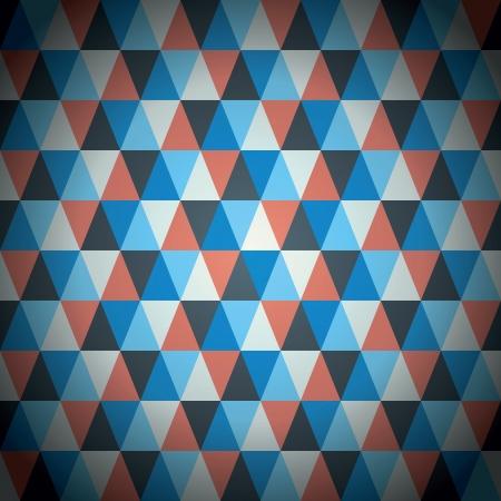 Modern triangle pattern vector background Illustration