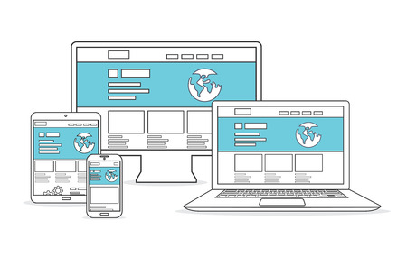 Website development and marketing  Responsive devices