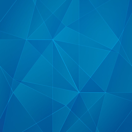 Abstract blue geometric business background Illustration
