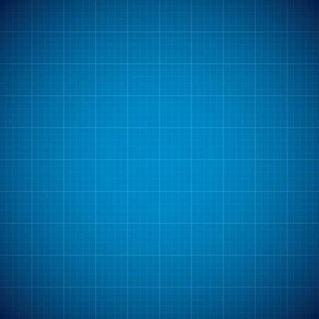 行グリッドと青写真の architechture ベクトルの背景 写真素材 - 27566269