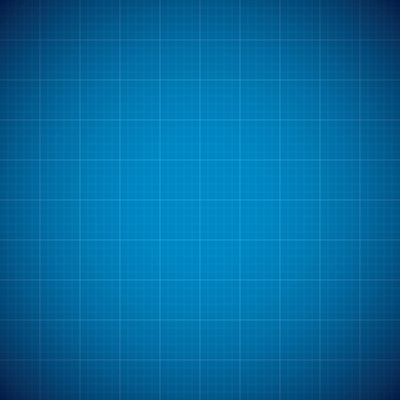 Blueprint architechture vector background with line grid Illustration