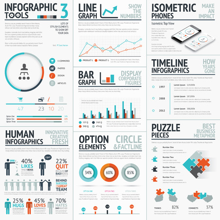 stunning: Stunning infographic elements