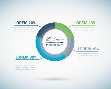 grafica de pastel: Gráfico Infografía