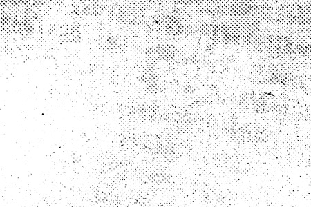 Grunge real organic vintage halftone vector ink print background