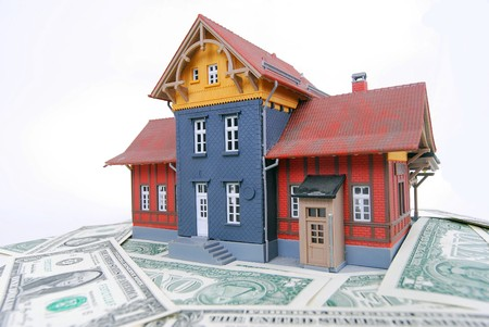 homeowners: An allegoric photo dealing with the homeowners crisis in the USA 2009