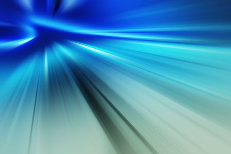hyperspace: Computer generated background - Stock Photo
