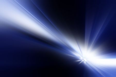 Abstract background rays
