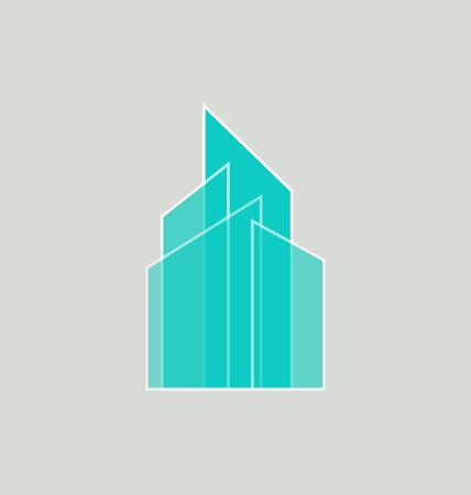 Real Estate logo template. Corporate real estate business logo vector template, Easy to edit vector file