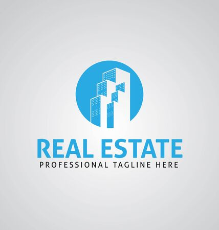 Real Estate home logo template. Corporate real estate business logo vector template, Easy to edit vector file