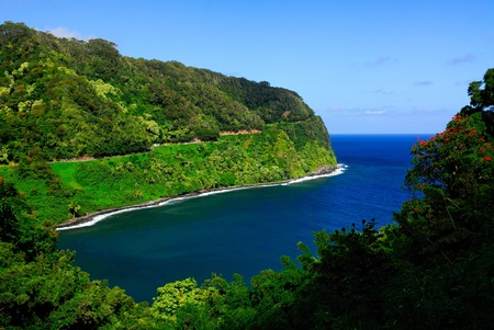 The road to Hana, Maui, Hawaii