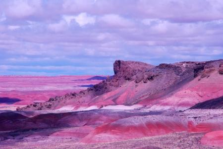 brilliant colors: The Painted Desert shows brilliant colors after a rainstorm