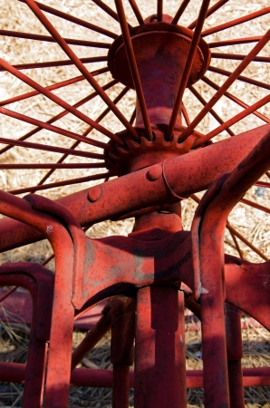 Abstract image from old mining equipment located at the Gold King MIne and Ghost Town near Jerome, Arizona  Reklamní fotografie