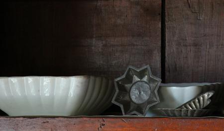 the shelf: Vintage pantry shelf