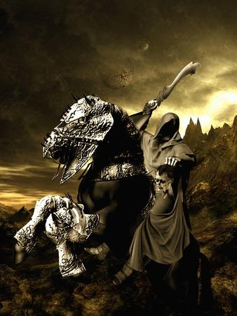 grim: Grim horse rider