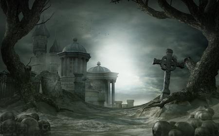 Abandoned shrine