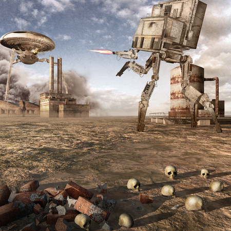 industrial machine: Clash of two war machines