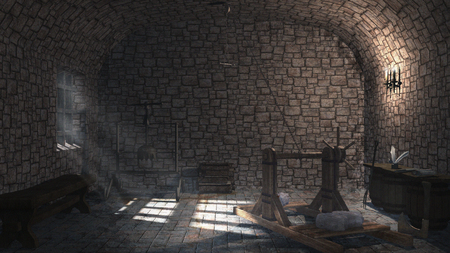 torture: Medieval small torture chamber