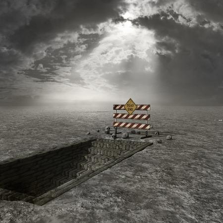 wasteland: Wasteland with underground passage