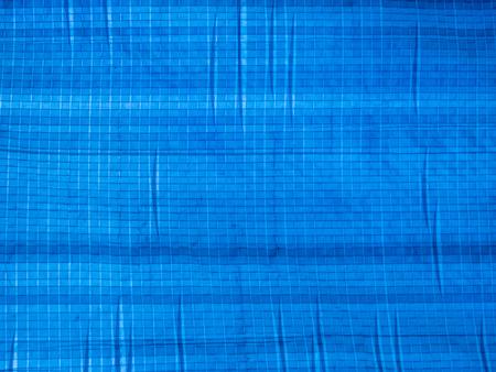 Blue tarp texture