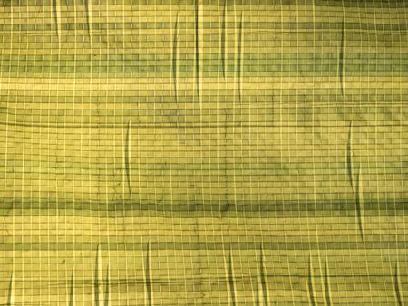 Olive green tarp texture Stock Photo