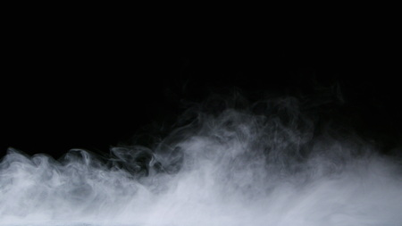 Realistic dry ice smoke clouds fog overlay perfect for compositing