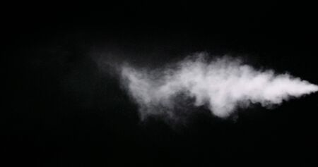 White vapor from air saturator Banque d'images