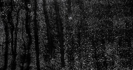 Drops of water on a dark background Stok Fotoğraf