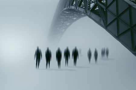 Zombies approaching a city where you live