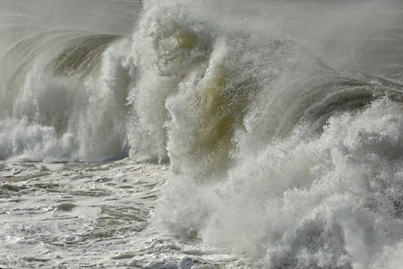 breaking wave: Detailed photo of a stormy breaking wave