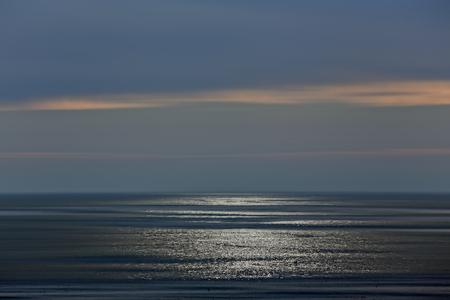 glistening: Summer glistening sea background. Used digital filters. Stock Photo