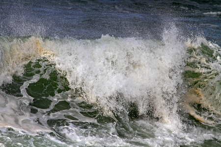 breaking wave: Big stormy breaking wave details