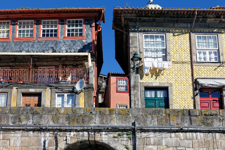 unesco: Traditional old houses from Oporto Ribeira, Unesco site