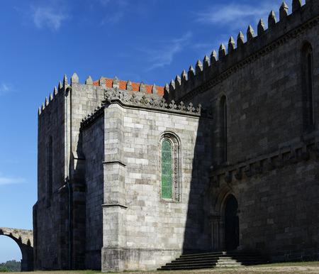 conde: Medieval Abbey of Santa Clara, Vila do Conde, near Porto, Portugal. Stock Photo
