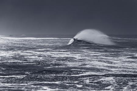 Northern portuguese coast before rain and storm Archivio Fotografico