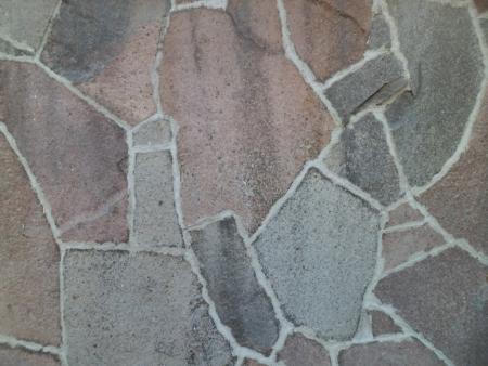Flat colored Stone