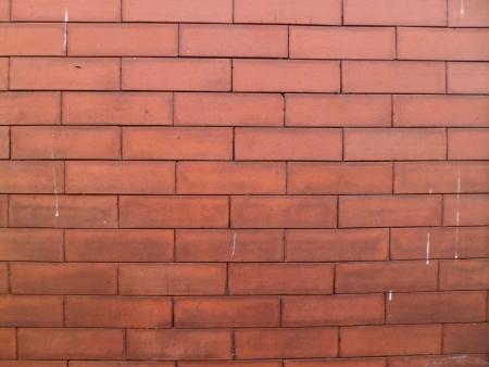 Red-painted Brick Banco de Imagens