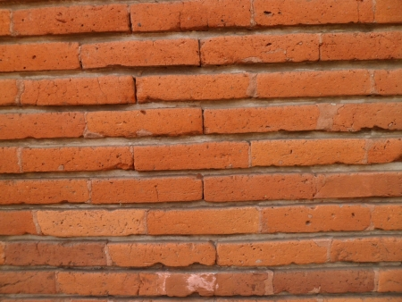 brick: Orange Brick 版權商用圖片