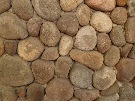 Shaded river stone