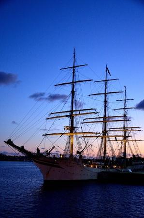 bermuda: Tall Shipp in Bermuda Harbour