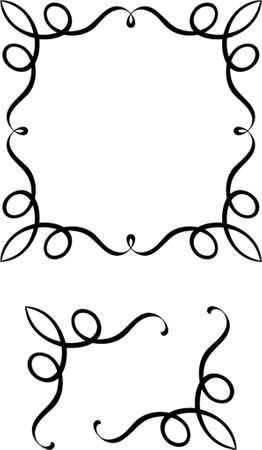 Vector decorative design elements. This is a vector image - you can simply edit colors and shapes. Stock Vector - 549000