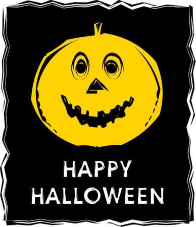 jackolantern: Halloween Jack-o-lantern. Vector Illustration.