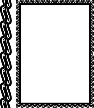 refine: Vettore cornice decorativa. Questo � un vettore immagine - si pu� semplicemente modificare colori e forme.  Vettoriali